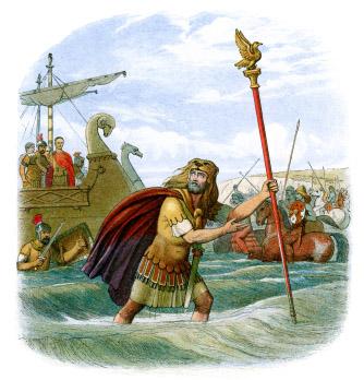 Julius Caesar's Invasion of Britain (Photos)