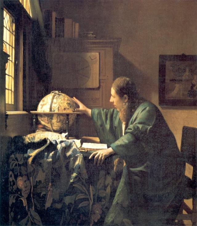 JohannesVermeer-TheAstronomer(1668)