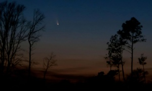 Photo of Comet PanSTARRS taken by Ken Christison from North Carolina after sunset on March 14, 2013. https://www.facebook.com/photo.php?fbid=4547173729792&set=o.36709031852&type=1&theater