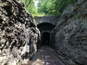 The Cumberland Tunnel in Cowan, built 1849-1852