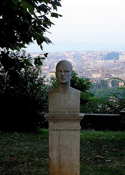 Lauro_De_Bosis_-_busto_al_Gianicolo_-_Roma