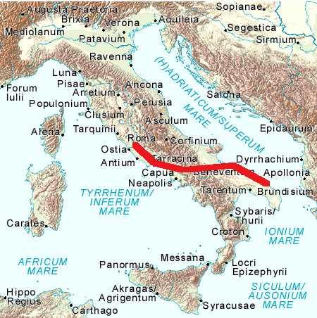 Italy w line